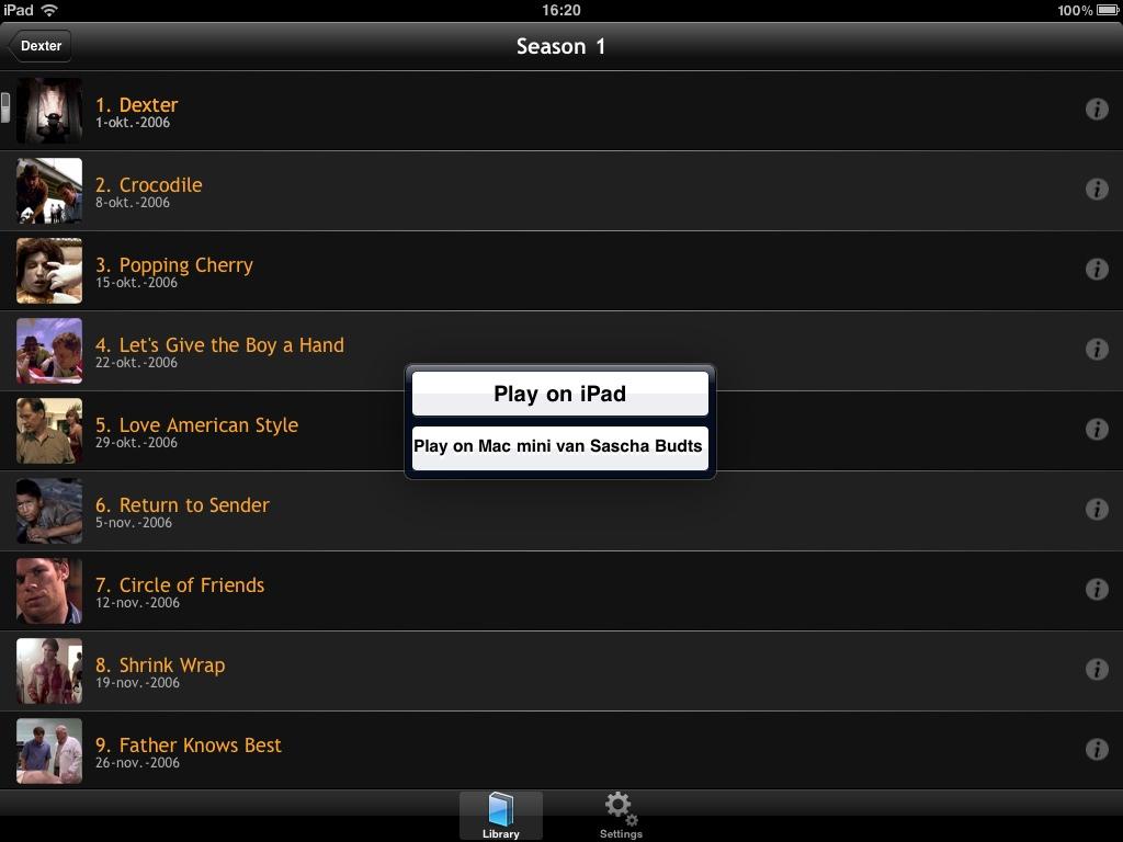 Plex iOS screenshot 9