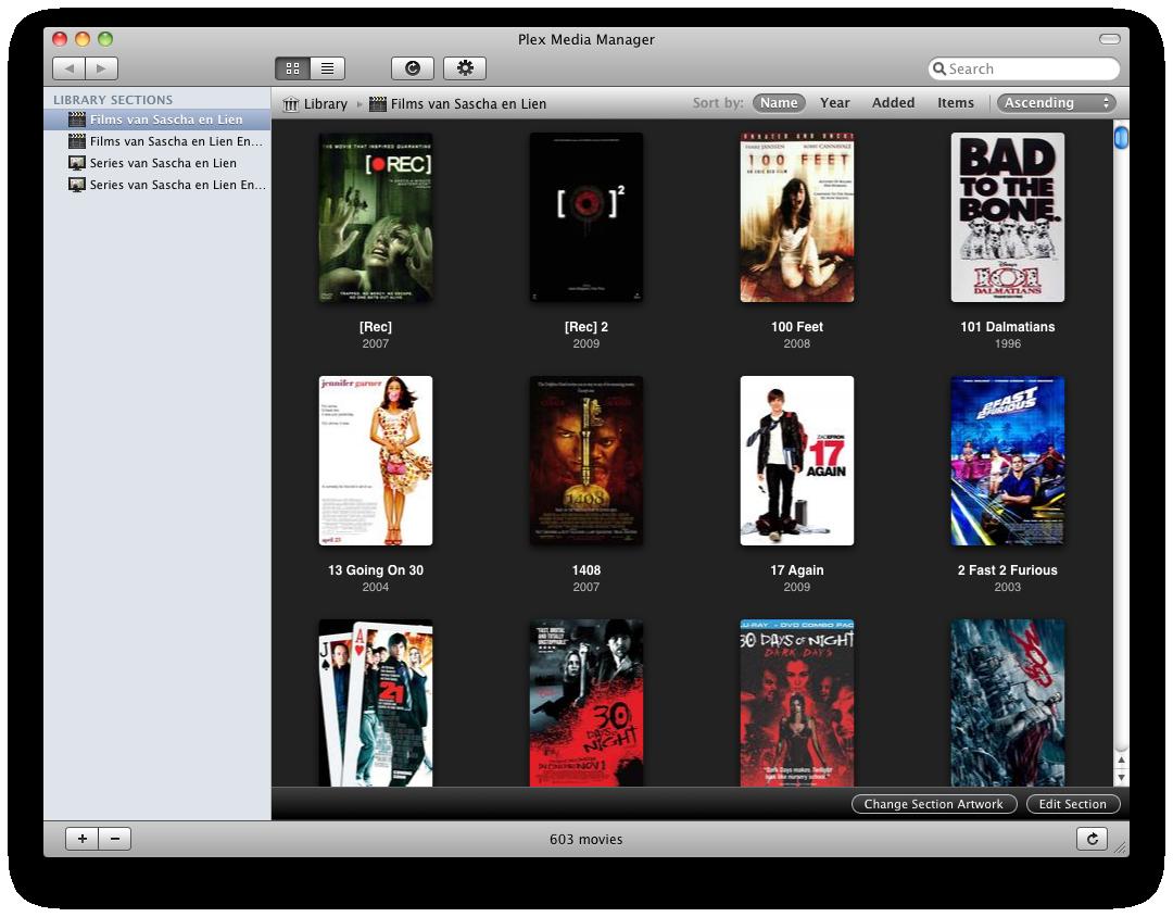 Plex screenshot 13