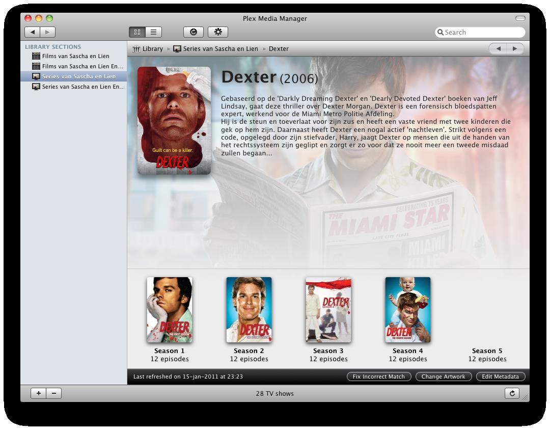 Plex screenshot 16
