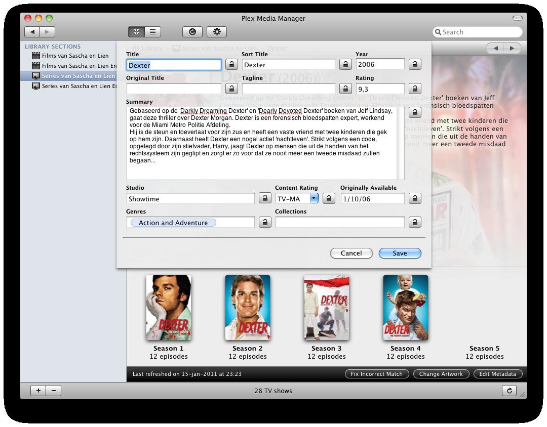 Plex screenshot 17