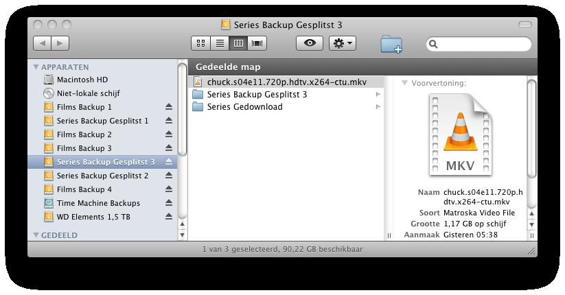 Screenshot Finder Mac mini